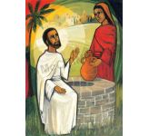 The Samaritan woman by the well - Banner