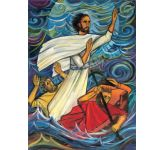 Jesus calms the storm - Banner