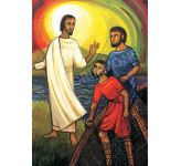 Jesus calls his first disciples - Banner