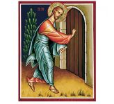 Icon Reproduction - Behold, I Stand at the Door and Knock