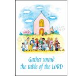 Gather round the table of the Lord - Banner