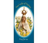 Our Lady of Fatima Banner - A Shape - BAN1157