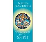 Blessed Holy Trinity - Banner BAN1901