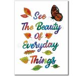 What is Beauty: See the beauty of everyday things - Banner BAN668