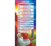 The Ten Commandments - Lectern Frontal LFRM06