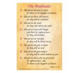 The Beatitudes Cards - Pack of 10 (A5)