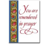 You Are Remembered in Prayer (CA5170)