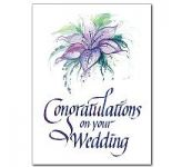 Wedding Congratulations Card (CA6602)