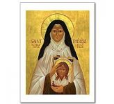 Icon - St Therese of the Child Jesus Card (CA6994)