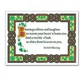 Irish Blessings Card (CA8237)