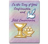 On the Day of Your Confirmation and First Communion (CB1470)
