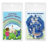Children's Wooden Rosary Beads Pk6