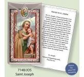 St Joseph Medal and Leaflet (CBC7148JOS)
