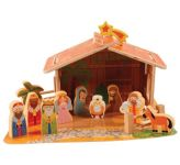 Wooden Nativity Set (CBC89382)
