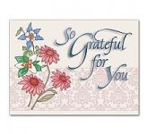 So Grateful for You Card (CF8130)