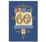 General 60th Anniversary Card (CL1012)