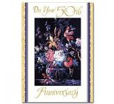 50th Wedding Anniversary Card (CL1013)
