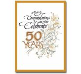 Congratulations as You Celebrate 50 Years (CL1753)
