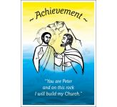 Core Values: Achievement Poster