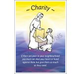 Core Values: Charity Poster