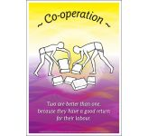 Core Values: Co-operative Poster