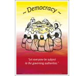 Core Values: Democracy Poster