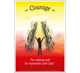 Core Values: Courage Poster