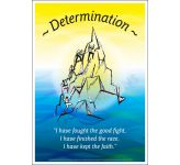 Core Values: Determination Poster