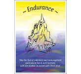 Core Values: Endurance Poster