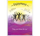Core Values: Enjoyment Poster