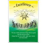 Core Values: Excellence Poster