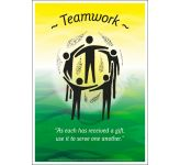 Core Values: Teamwork Poster