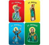 National Saints Set of 4 - A2 or A3 Display Boards