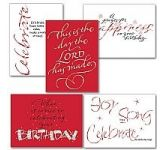 Birthday Card Assortment (WF108)