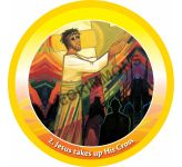 Footsteps of Christ - Circular Display Board Set of 16