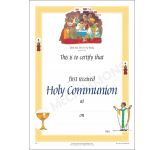 Certificate - First Holy Communion (A4)