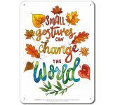 Be the Change: Small gestures... Display Board 652
