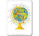 Be the Change: You can change the World - Display Board 653