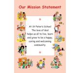 Personalised Mission Statement - Display Board