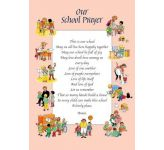Personalised School Prayer - Display Board