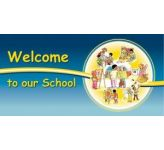 Welcome to our School - sign (landscape)