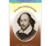 William Shakespeare - Poster A3 (IP1359)