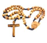 Wall Hanging Wooden Rosary