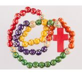 Wooden Bead 'Missionary' Rosary