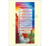 The Ten Commandments Poster - PBRM06