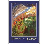Praise the Lord Message Poster