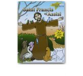 Saint Francis of Assisi Colouring Book