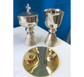 Chalice Set - Silver Finish