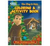 The King is Born Colouring & Activity Book