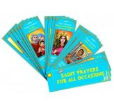 Devotional Fan: Saint Prayers for All Occasions
